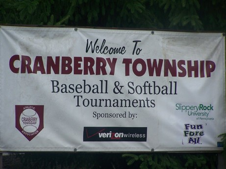 tournament welcome sign